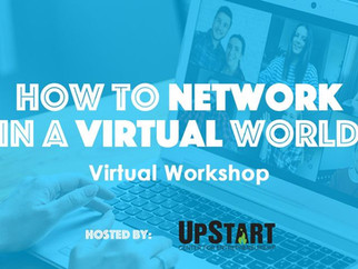 How to Network in a Virtual World: Virtual Workshop