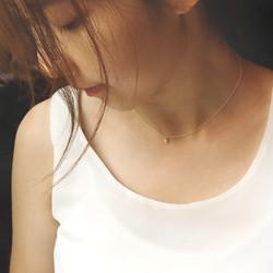 美好年代 - 925銀 淡水珍珠項鍊 鎖骨鏈