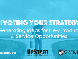 Pivot Your Strategy: Generate Ideas for New Product/Service Opportunities
