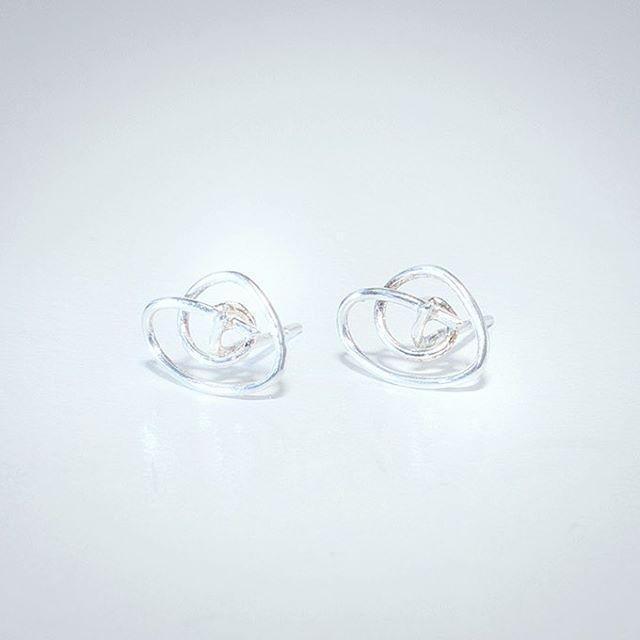 Ripples _ 2017 _ silver earrings ..