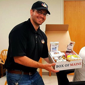 """Sending a """"Box of Maine"""" all over the world"""