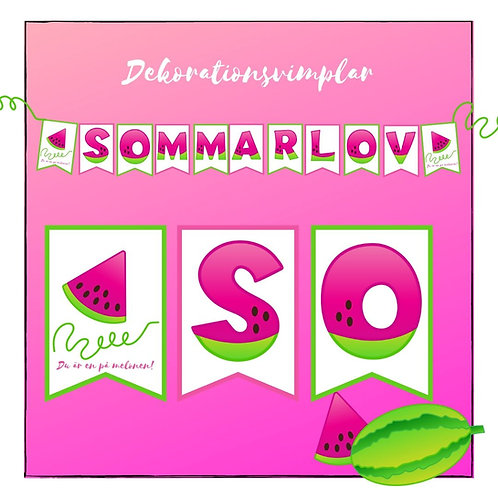 Vimplar Sommarlov!