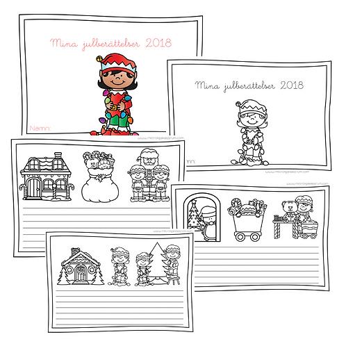 Julberättelser +färglägga