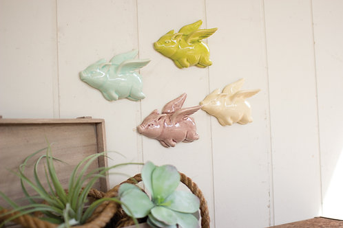 Ceramic Flying Pig