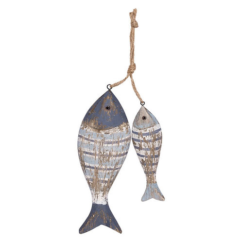 Wooden Fish on Rope
