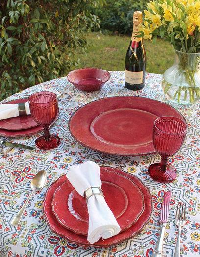 Melamine Dinnerware - Red
