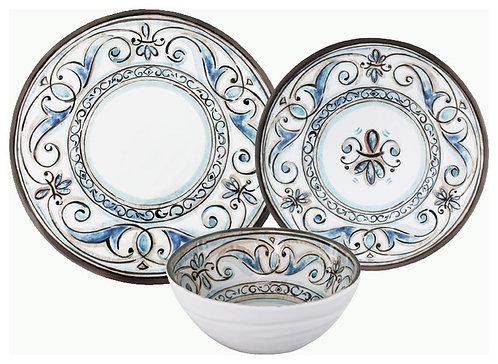Melamine Dinnerware - Fleur