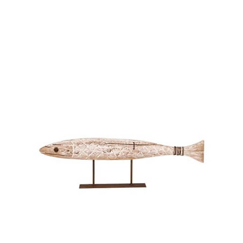 Carved Fish on Stand