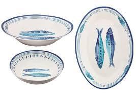 Melamine Serveware - Two Fish