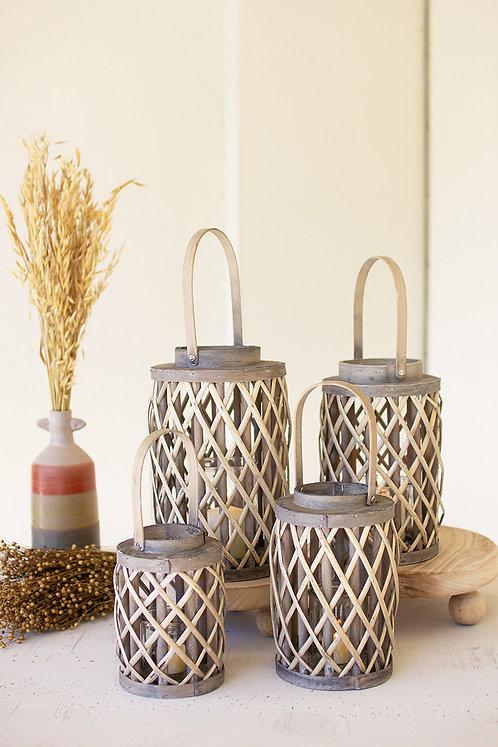Willow Wood Lanterns