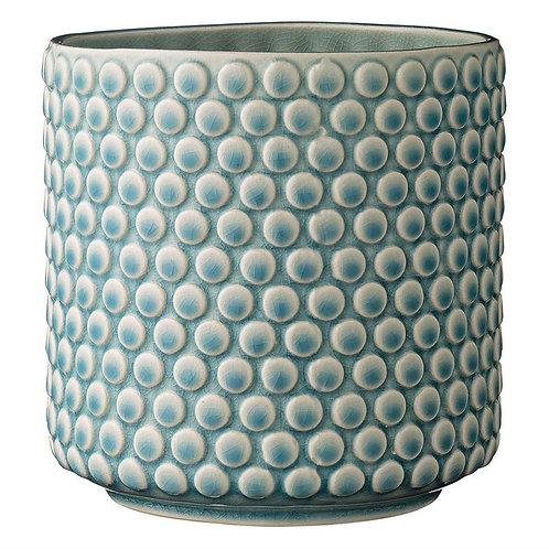 Stoneware Hob Nail Pot