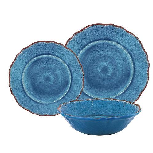 Melamine Dinnerware - Blue
