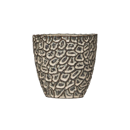 Oyster Embossed Pot