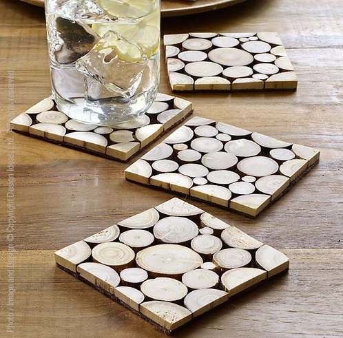 Branch Coasters - Set of 4