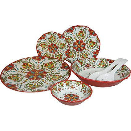 Melamine Dinnerware - Modello Red