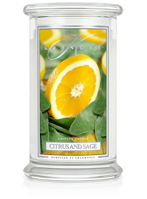 Kringle Candle - Citrus and Sage