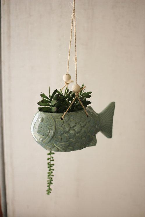Hanging Fish Planter