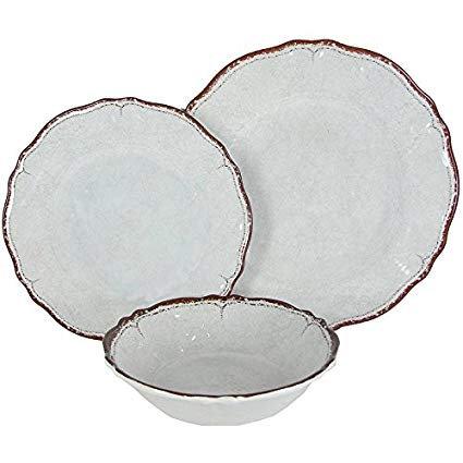 Melamine Dinnerware - White