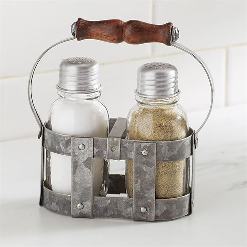 Farmhouse Salt & Pepper Set