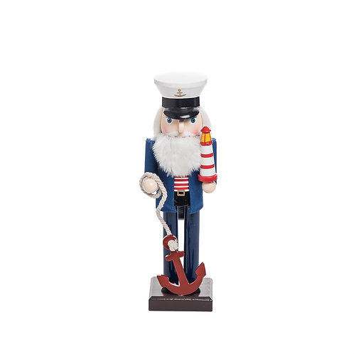 Wood Captain Nutcracker