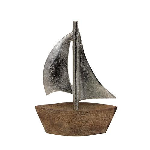 Wood & Metal Sailboat