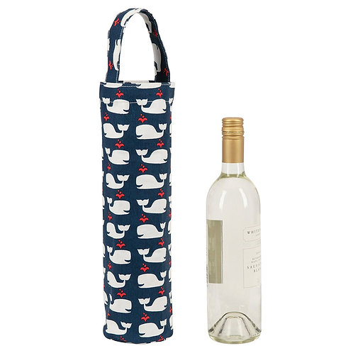 Whale Wine Tote