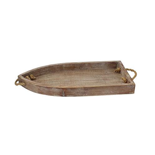 Wood Boat Tray
