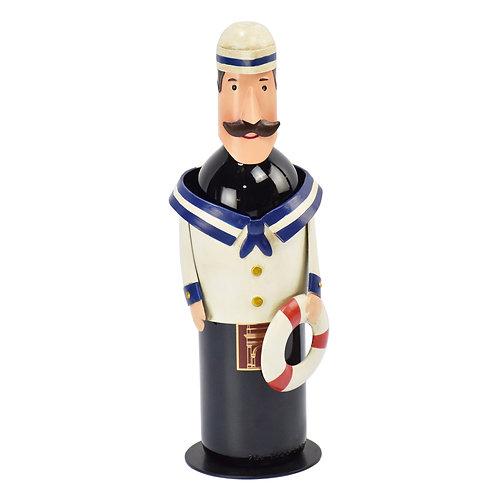 Metal Sailor Bottle Holder