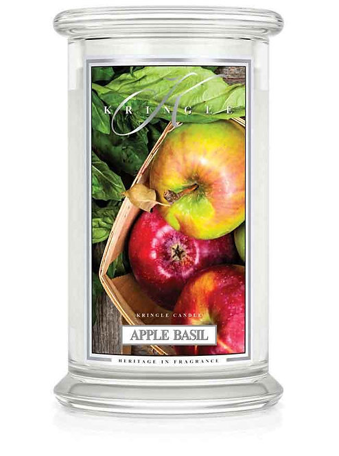 Kringle Candle - Apple Basil