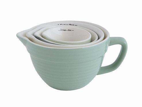 Stoneware Measuring Cup Set