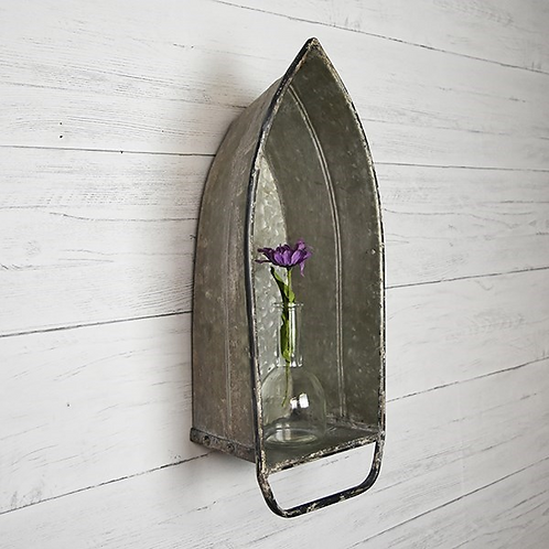 Galvanized Boat Shelf
