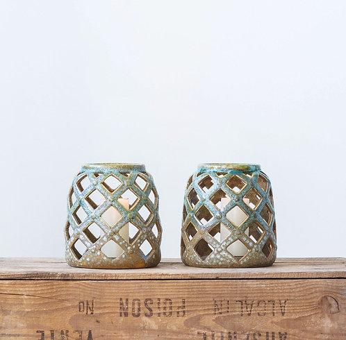 Stoneware Lantern