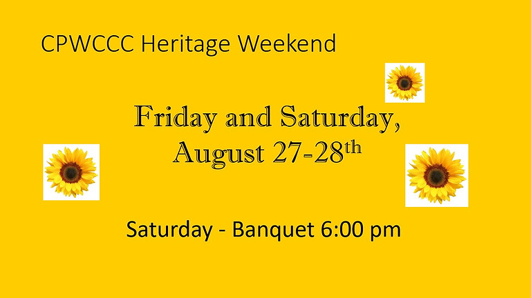 CPWCCC Heritage Weekend