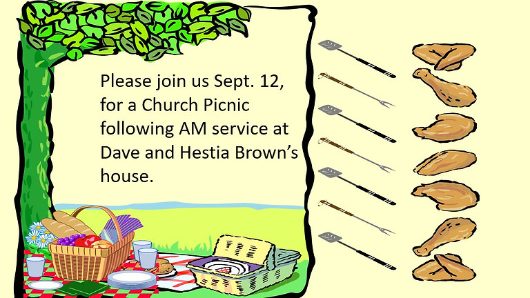 PICNIC Dave and Hestia Brown's