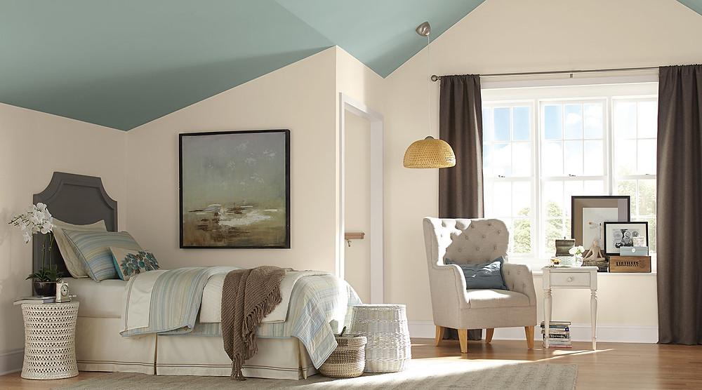 calm bedroom wall colors