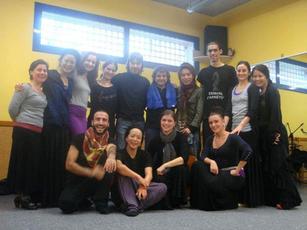 『スペイン・クリスティーナ・へーレン音楽学院』ハビエル・バロンのクラスにて