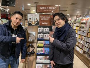 ベストアルバム発売 タワーレコード渋谷店にて 2020年