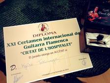 2019年『スペイン・バルセロナ国際コンクール』第4位受賞.J