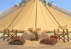Boho Bell Tent