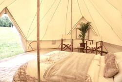 Honeymoon bridal bell tent