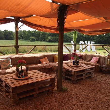 Top 10 festival wedding venues in Sussex, Kent & Surrey :  Whitefields Tipi weddings - East Sussex