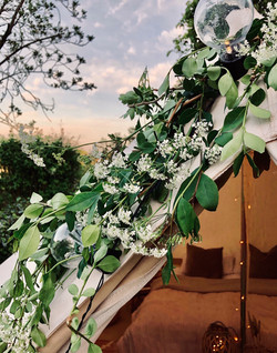 Bell tent hire - Wedding glamping
