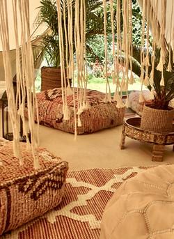 Luxury bell tent hire - Sussex, Kent & Surrey