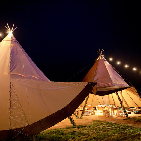 Tribeca Tipis - wedding and party tipi hire