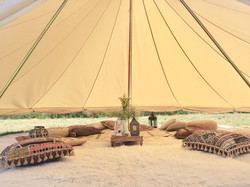 Chill out bell tent