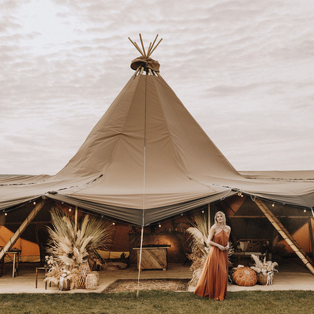 TRIBECA TIPIS - our sister tipi business... perfect partners for festival weddings and events.
