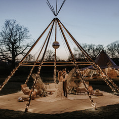 Naked tipi and giant hat
