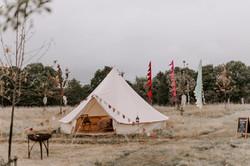 Deluxe bell tent - festival wedding