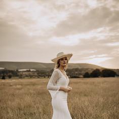Rustic country bride