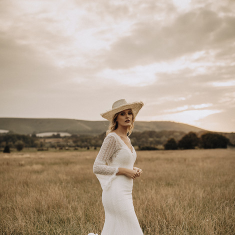 Rustic country bride